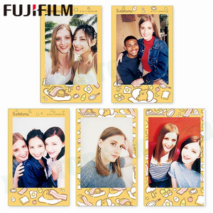 Image 2 - 10 sheets Fuji Fujifilm instax mini 11 9 8 white Edge films Colour Fims for instax camera MONOCHROME Rainbow Macaron cartoon