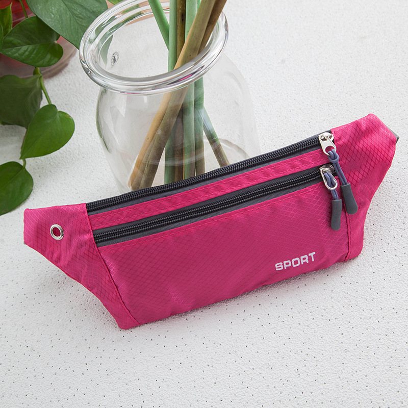 New Style Stall Cheap Wallet Hot Selling Belly Bag Hidden Ultra-Light Bag Fashion Outdoor Operation Waterproof Nylon Fanny Pack