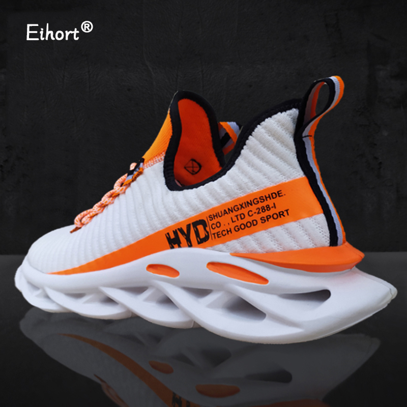 Eihort Breathable Men's Sneakers 48 Comfortable And Light Mesh Sports Shoes 47 Outdoor Leisure Jogging Non-slip Running Shoes 46