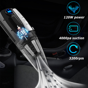 Image 3 - 4 in 1 Multi Function Car Vacuum Cleaner with Digital Display Portable Car Dual Use Car Auto Inflatable Pump Air Compressor