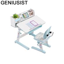 Tavolo Per Bambini Children and Chair Mesa Y Silla Infantil Play Pour Desk Adjustable Kinder для Bureau Enfant Study Kids Table