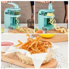 Lmetjma Spiralizer Vegetable Slicer with 4 Rotary Blades Mandoline Slicer Cutter Pasta Spaghetti Zucchini Noodles Maker