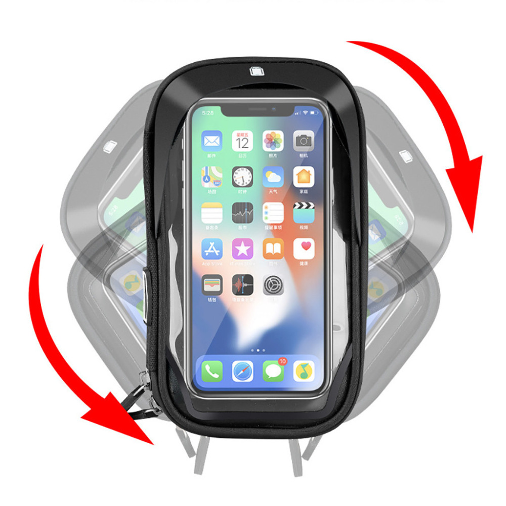 Waterproof Motorcycle Mobile Phone Holder Bag Case MTB Touch Screen 4.5-6.5 Inch #4V29 (9)
