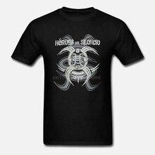 Camiseta de Héroes DEL SILENCIO HDS para hombres, camisa de manga corta S-3XL POP español, ROCK latino, BUNBURY, nueva moda