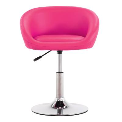 Round Backrest Bar Chair Lift Chair Home Swivel Chair Nail Beauty Stool Back Makeup Chair Modern Minimalist High Stool