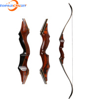 58inch 35-60lbs Archery Take Down Hunting Bow Wooden Shooting Recurve Bow For Outdoor Sports Shooting