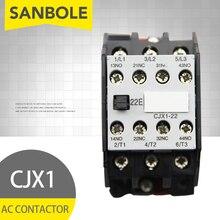 цена на CJX1-22/22 3TB43 AC contactor DIN Rail Mounted 2NO 2NC 12V/24V/36V/48V/110V/127V/220V/380V 22A 50HZ/60HZ