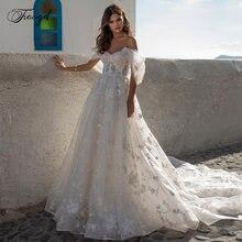 Женское свадебное платье с открытой спиной traugel кружевное