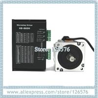 86 2 phase hybrid stepper motor 12N.m 86BYGH250D and driver HB 860H 18 80VAC/24 100VDC 7.2A Nema34