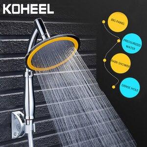 Shower Head Water Saving Rain Handheld Shower Big 6 Inch High Pressure Bathroom Rainfall Shower SPA Shower Head(China)
