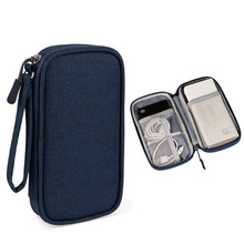 Cable-Bag Case Power-Bank External-Hard-Drive-Disk Carrying-Box for Usb-Charger
