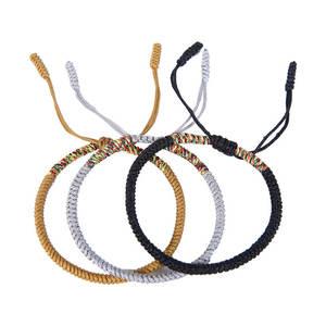 Bangle Bracelet Letter Fabric Bohemia Braid Women Jewelry Fashion Signature Adjustable