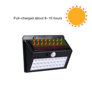 Image 5 - Coba שמש אור בחוץ led שמש מנורת 30/45/60 cob חירום אור בחוץ עמיד למים קיר אוטומטי אור סופר בהיר