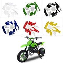7 peças de alta resistência plástico fender carenagem kits corpo para 47cc 49cc chinês 2 tempos apollo orion mini bicicleta sujeira