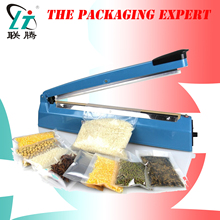 Impulse Sealer Manual Pouch Sealing Machine Aluminum Plastic Bag Heat Sealer 400mm Packing Device Electric SF-400 Free Shipping