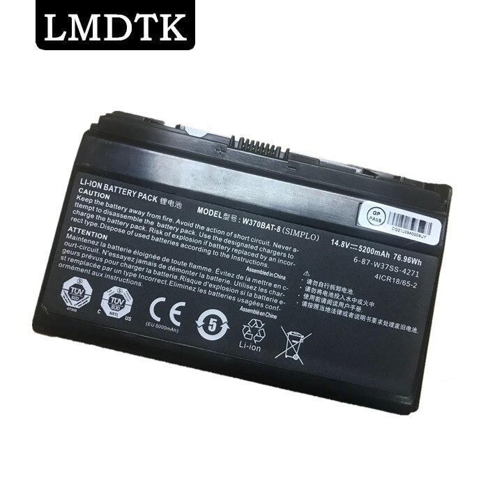 LMDTK NOUVELLE batterie d'ordinateur portable POUR Hasee W370BAT-8 K590S K650C K750S K760E 14.8v
