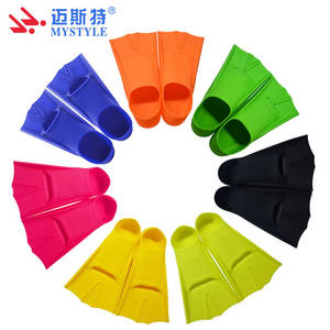 Swim Fins Swimming Flippers Diving Supplies Soft Silicone Flippers High Quality Swimming Shoes Flipper