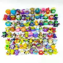 30 pçs/saco superzings superthings anime lixo figuras de ação raros superzings enigma kactor coleção limitada brinquedos para crianças