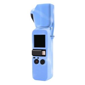 Image 5 - Osmo Pocket camera siliconen case bescherming cover met lens cap + strap lanyard voor DJI osmo Pocket camera gimbal Accessoires