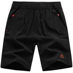 Plus size 8xl 9xl 10xl casual esporte verão calções de secagem rápida masculino respirável praia board shorts homme bermuda roupas masculinas