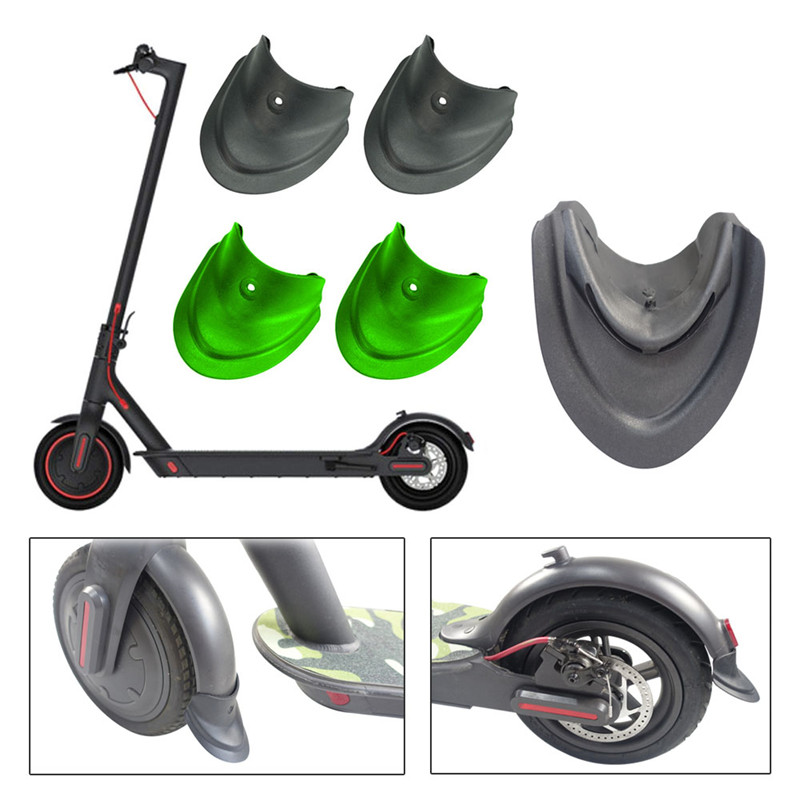 Fashion Outdoor Scooter Equipment Pro Fender Front Rear Fishtail Mud Retention Modified Sports Scooter Accessories Black Green in Scooter Parts Accessories from Sports Entertainment