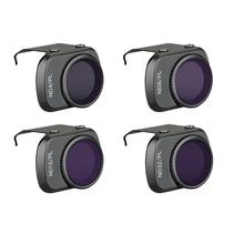 4 adet/takım mavic drone filtreler ND PL filtre CPL ND4 ND8 ND16 ND32 PL filtre dji mavic mini drone aksesuarları