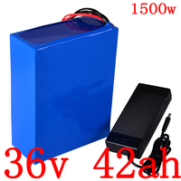 36V 1000W 1500W electric scoote battery pack 36v 40ah electric bike battery 36V 40AH lithium ion battery with 50A BMS+5A charger