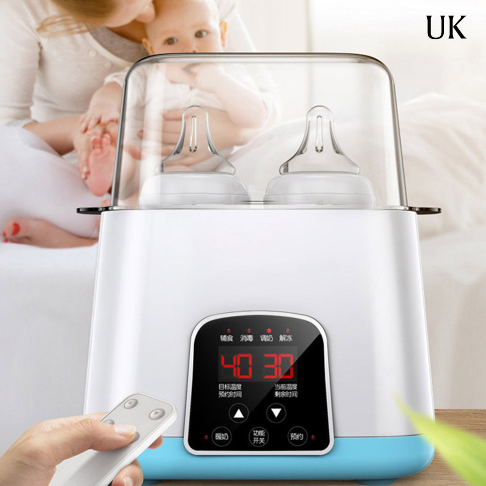 6 in 1 Milk Bottle Sterilizers  Remote Control Automatic Intelligent Thermostat Baby Bottle Warmers Disinfection Box Fast Warm