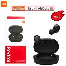 Оригинальные наушники Redmi Airdots 2 Xiaomi Airdots S TWS 5,0, Bluetooth гарнитура с голосовым управлением, мини спортивные наушники с микрофоном HD, 5 шт./лот