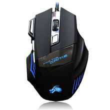 Gaming Mouse 2500DPI Wired Mouse USB Optical LED Computer Mice for Laptop PC Game Professional Gamer blue james donkey 007 mac custom computer usb wired length 1 8 m mechanical big mouse laptop game comfortable sense smart mice