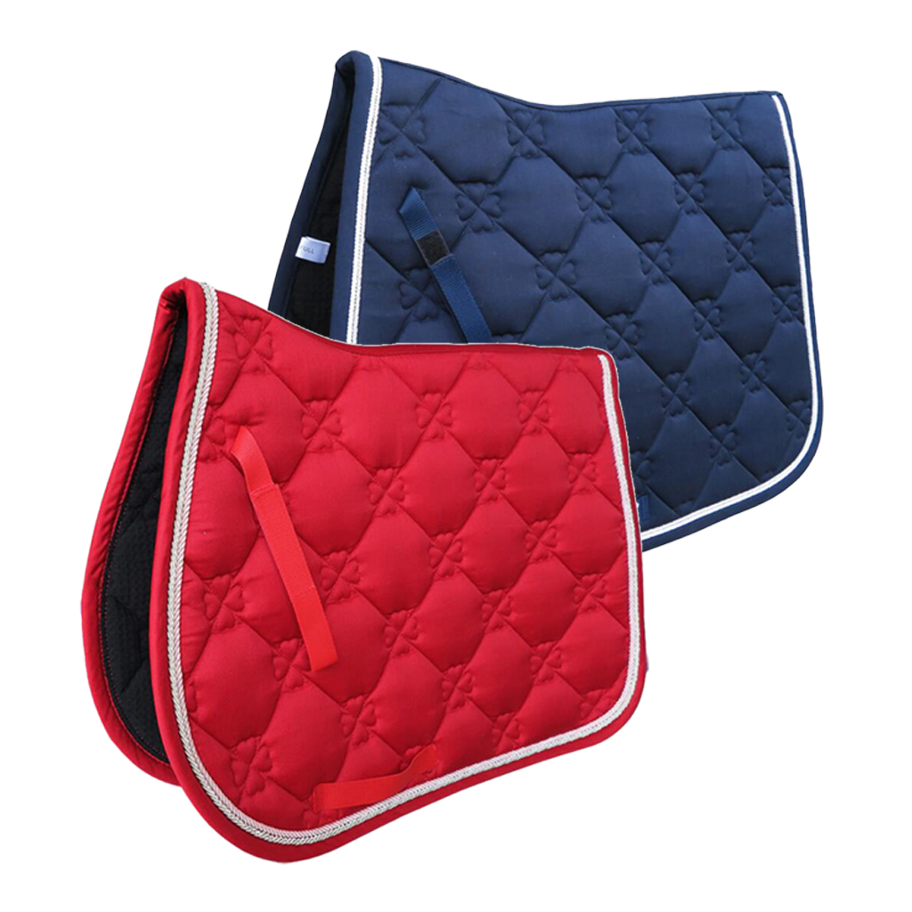 All Purpose Saddle Pad Equestrian Bareback Riding Pad Horse Riding Pad Men Women Horse Riding Show Jumping Equipment