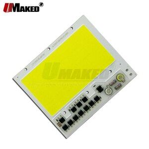 Image 4 - AC 220 12V LED COB 100 ワット 136X115MM LED PCB 投光器モジュールアルミニウム板ホワイト/ウォーム COB チップスマート IC スポットライト用のドライバをランプ