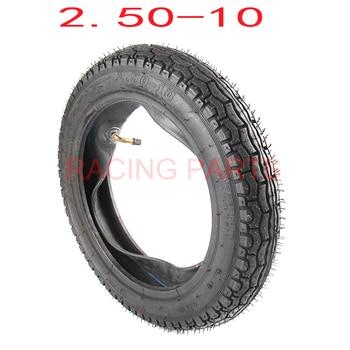 Rueda delintera exterior del neumático, 2,50-10 pulgadas, neumáticos originales, 10 pulgadas de potencia, moto para uso fuera de la carretera Guang