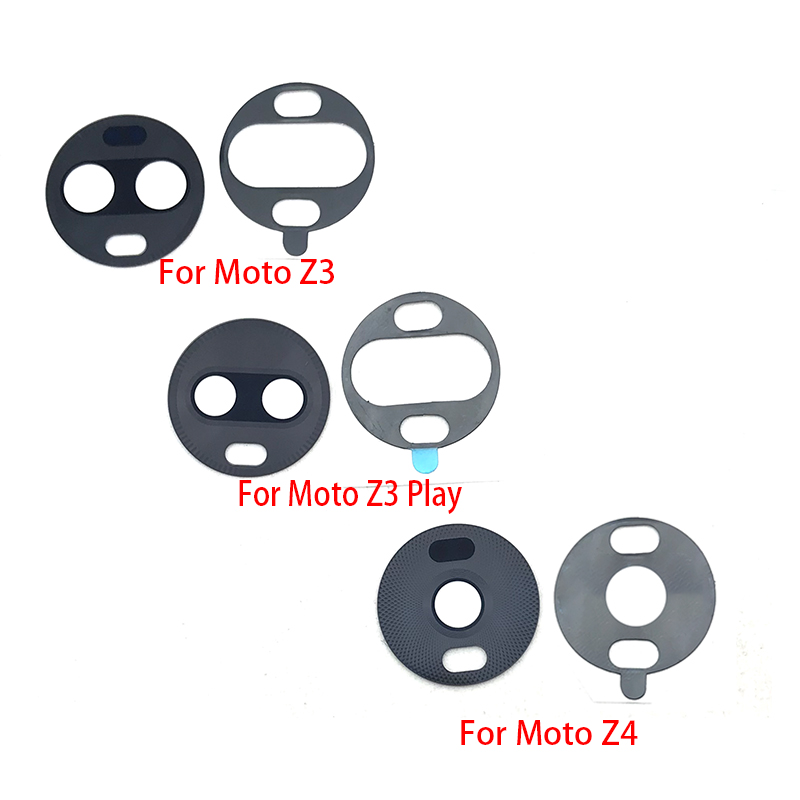 Glass-Lens Motorola Glue-Adhesive Play Rear for Moto/Z4/Z3/..  title=