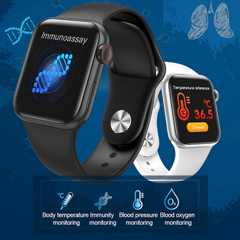 2020NEW Smart Body Temperature Women Digital Sarmtwatch Men APP Reminder Heart Rate Watch Calorie Beauty Clock For Huaiwei phone