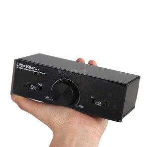 Image 5 - Nobsound little bear mc2 pré amplificador passivo, totalmente equilibrado, controlador xlr/rca, interruptor de sinal de áudio