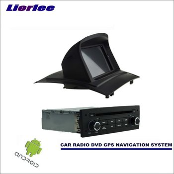 Liorlee Car Android Multimedia GPS Navigation System For Renault Megane II 2 2002-2009 Radio Stereo CD DVD Player HD Screen image