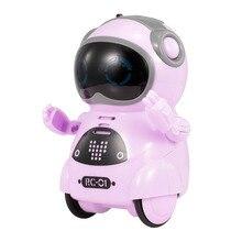 Mini Robot 939a-Pocket-Robot Talking Dancing Interactive Telling-Story Record Toy Singing