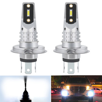 2x Canbus H4 H1 H9 H11 LED Fog Light Bulb For BMW E46 E90 E60 E39 E87 X5 E53 E70 E36 X3 E83 E34 E92 E38 F30 F10 Car DRL Lamp image