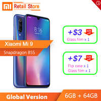In Stock Global Version Xiaomi Mi 9 6GB 64GB Snapdragon 855 48MP AI Triple Camera Smartphone Fingerprint Wireless Charging NFC