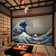 Japanese Ukiyo-e Big Waves HD Photo Wallpapers and Wind Background Wall