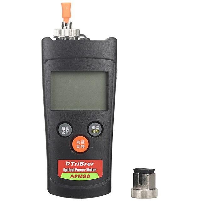 Mini letter metering Fiber power meter Optical multimeter APM80C light decay tester -50 to +26 Radio and TV version