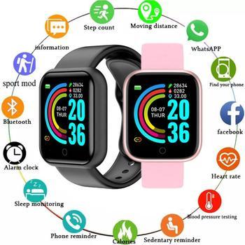 Smart Watch Men Y68 Bluetooth Fitness Tracker Sport Watch Heart Rate Monitor Blood Pressure Smart Bracelet Men Women Smart Watch 1