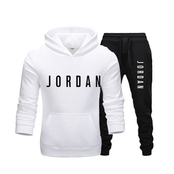 Hoodie men's fashion sportswear casual sportswear men's hoodie sweatshirt sportswear JORDAN 23 coat + pants men's suit фото