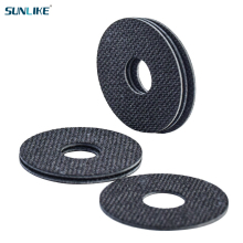 10 Pieces Of Carbontex Tow Reels 1.0mm Carbon Fiber Washer For Fishing Reels Ring Brake Pads