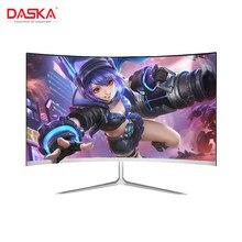 DASKA 23.8 inç oyun rekabet kavisli geniş ekran IPS/Led 24