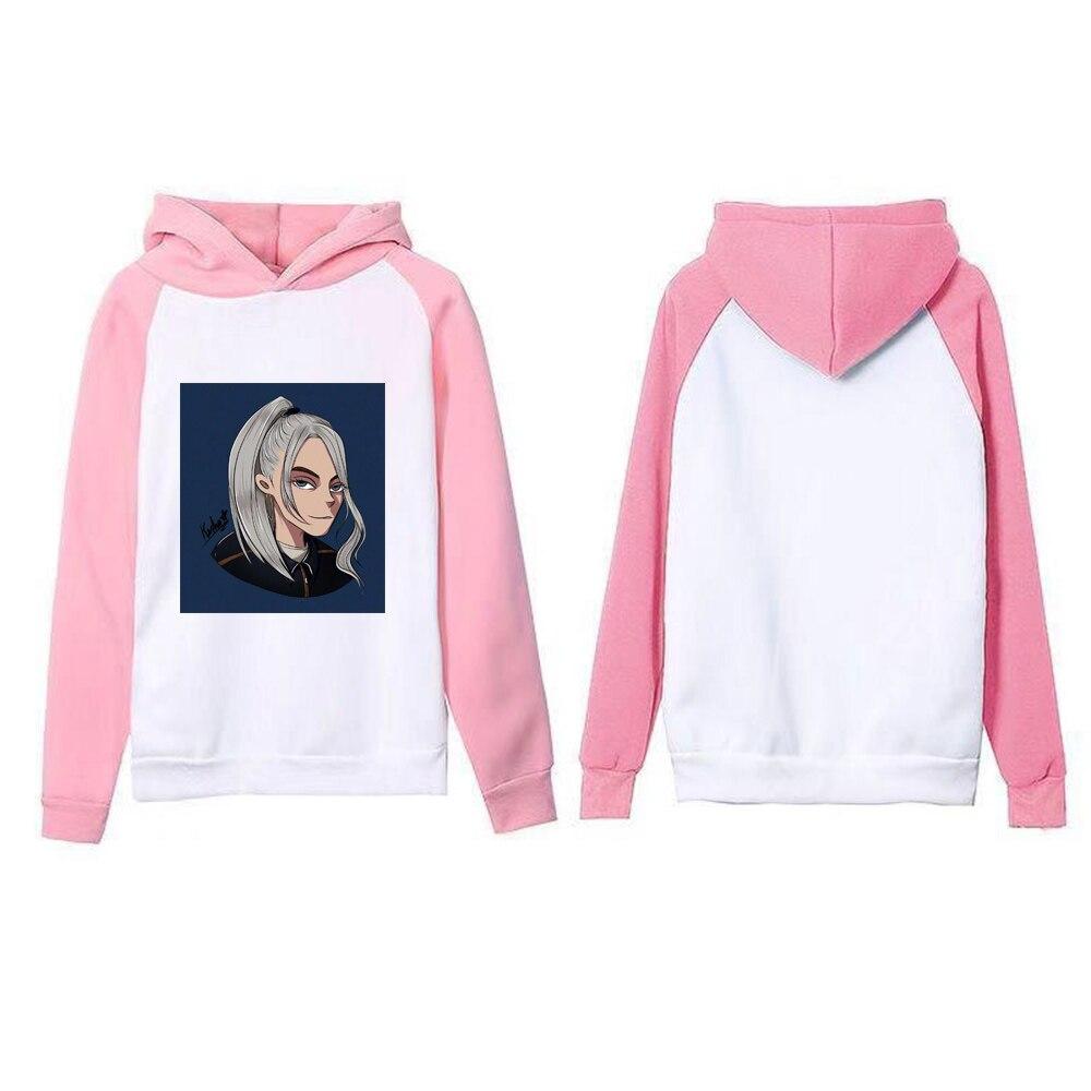 Autumn Hot Sale Billie Eilish Hooded Print Men Women Popular Clothes 2019 Casual Harajuku Hoodies Sweatshirt Plus Size XXXL in Hoodies amp Sweatshirts from Men 39 s Clothing