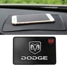 Non-Slip-Mat Interior-Accessories Challenger Ram-Logo Journey-Caliber Grand-Caravan-4