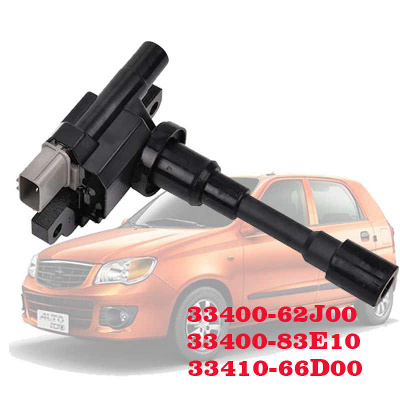 Negro soporte de montaje de bobina de encendido de aleaci/ón de aluminio CNC apto para Ford Mustang F150 Gorgeri Soporte de bobina de encendido