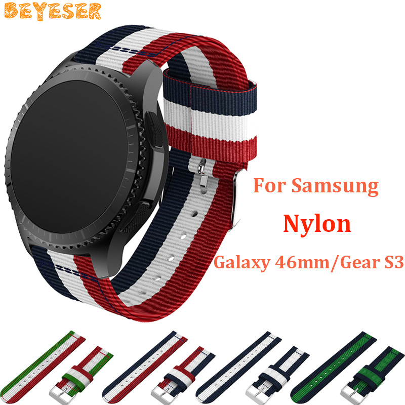 Nylon straps For Samsung Gear S3 Cassic/Frontier wrist band replacement watchbands For Huawei Watch GT wrist strap dropshipping